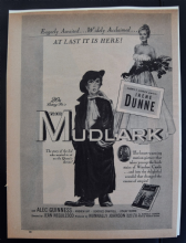 The Mudlark (1950) - Alec Guinness | Irene Dunne | Vintage Trade Ad (1)